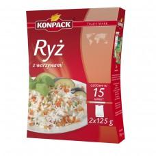Ryż z warzywami 2x125 g